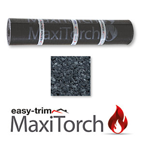 Easy Trim Maxi Torch Applied Black 1m X 8m