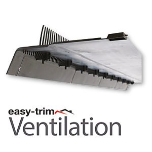Easy Trim 3 In 1 Vented Felt Support Tray, Over Fascia And Comb