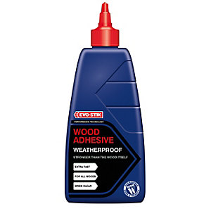 Evo-Stik Resin W Weatherproof Wood Adhesive 500ml