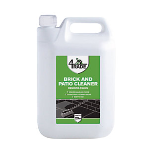 4TRADE Brick and Patio Cleaner 5L - Pack of 4
