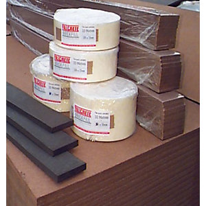 Fillcrete Fillaboard Expansion Joint Strip 12mm x 100mm x 2440mm