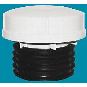 4TRADE AF110 Push Fit Air Admittance Valve Black