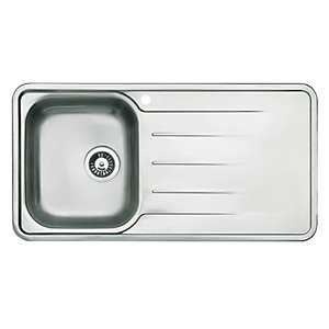 Modo Single Bowl Kitchen Steel Sink & Drainer