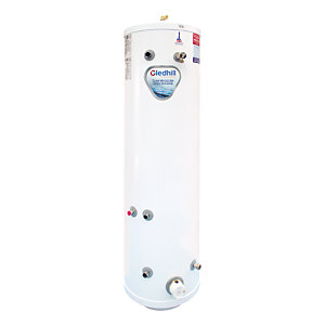 Gledhill Stainless Lite Indirect Unvented Stainless Steel Heatpump Slimline Cylinder 180L ASL180HPSL