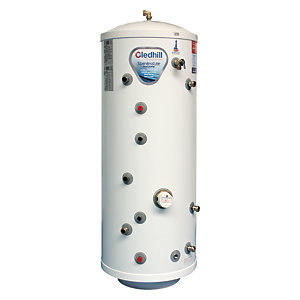 Gledhill Stainless Lite Stainless Unvented Heatpump Cylinder 210L HP210IND