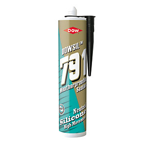Dow Corning 791 Silicone Waterseal Sealant Black 310ml (Minimum purchase quantity 2)