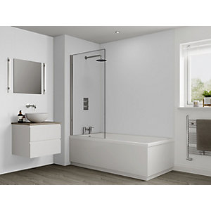 Multipanel Hydrolock Shower Panel Natural White 2400mm