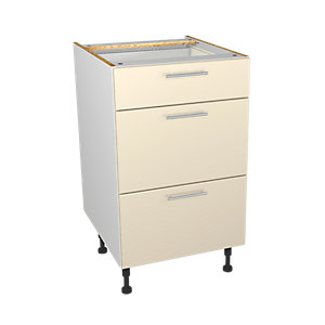 Orlando Cream 500mm Drawer Unit