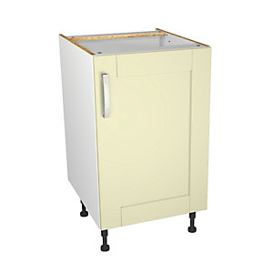Ohio Cream Kitchen Base Unit 500mm