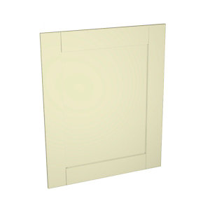 Ohio Cream Kitchen Appliance Door (B) 600mm x 731mm