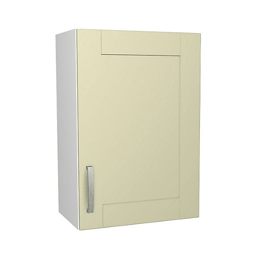 Ohio Cream Kitchen Wall Unit 500mm
