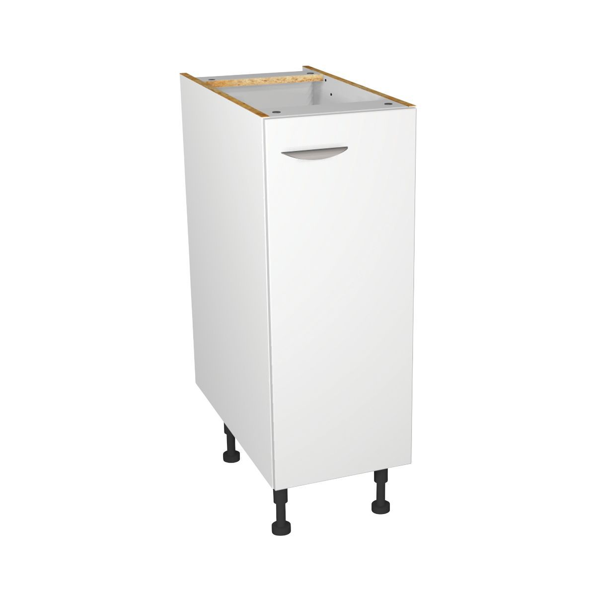 Dakota Kitchen Base Unit White Mm