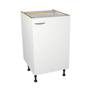 Dakota Kitchen Base Unit - White - 500mm