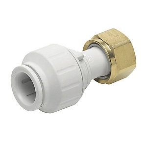 JG Speedfit tap connector 22mm x 3/4inch Pack 5