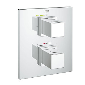 Grohe Cube Thermo Shower Mix Without Body 34509000