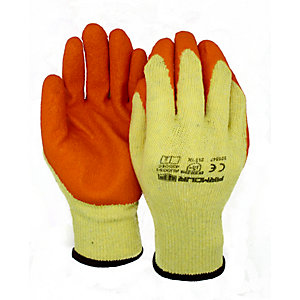 Armour Up Latex Builder Grip Gloves Large (6 Pack)