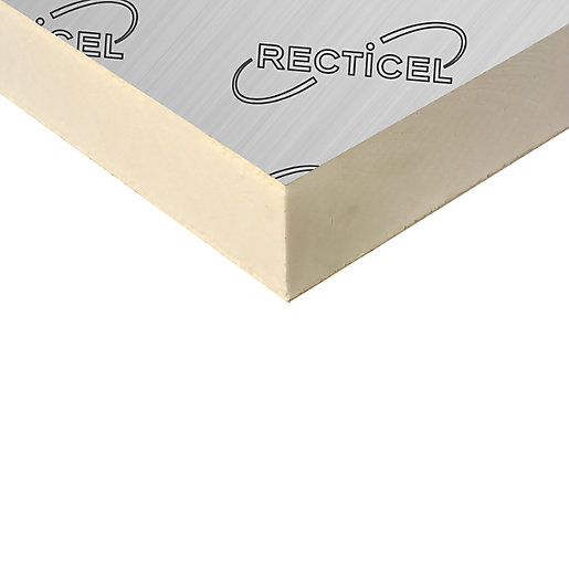 Recticel Eurothane General Purpose Rigid Pir Insulation Board 2400mm X 1200mm X 100mm