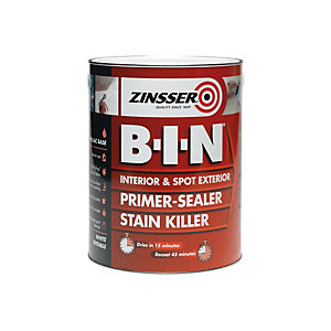 Zinsser B-i-n Primer Sealer Stain Killer (Shellac Base) 1L