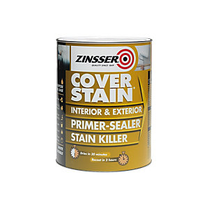 Zinsser Coverstain Primer Sealer Stain Killer (Interior Oil Based) 1L