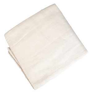 4TRADE Dust Sheet Cotton Twin Pack