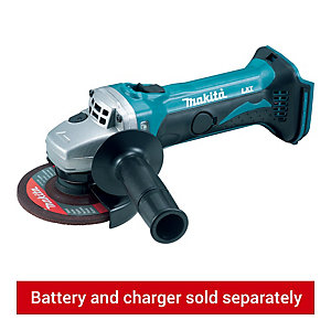 Makita DGA452Z Lxt Angle Grinder Body Only 18V 115mm