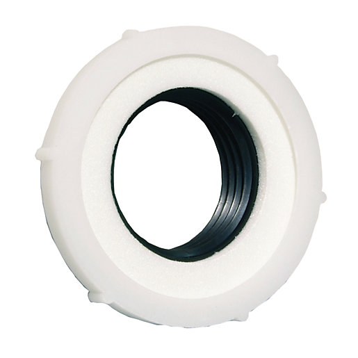 4Trade Basin Waste Seal 1 x 32mmm Tapered Washer 1x Foam Washer & Nut - 5 Pack Box