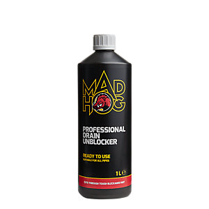 Mad Hog Professional Heavy Duty Drain Unblocker 1L
