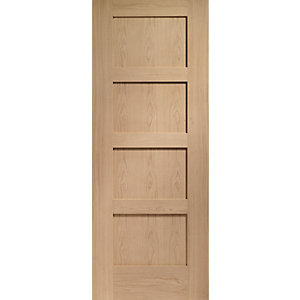 Internal Oak Pre-finished Shaker 4 Panel Door