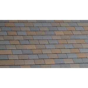 Hawkins Clay Roof Plain Tile Staffordshire Mixed 303 3