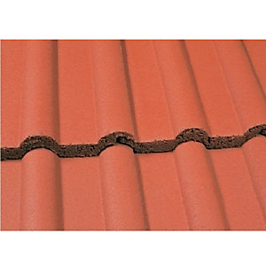 Marley Double Roman Roofing Tile Mosborough Red