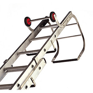 Lyte Trade Roof Ladder Double Section 3.94m - 6.61m 15+13 Rung