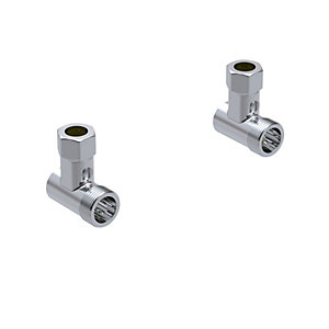 Mira Showers Bar Valve Exposed Pipework Elbows (Suits All Bar Valves) 1.1712.002