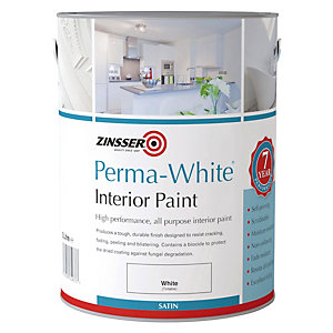 Zinsser Perma-white Self Priming Paint Satin 1L