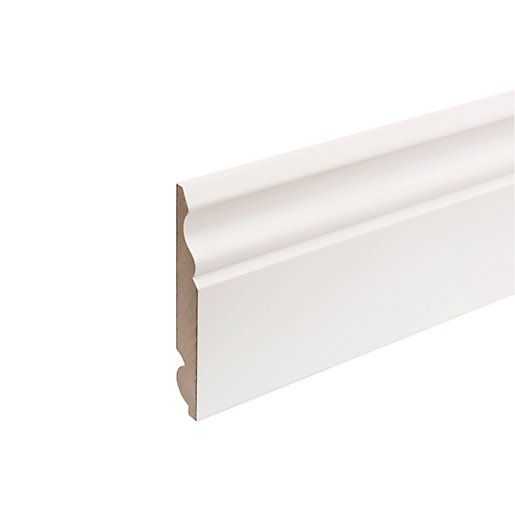 MDF Painted TRUprofile Torus/Ogee Skirting 18mm x 119mm x 4.4m
