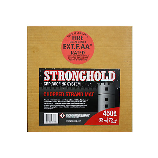 Stronghold Grp Fibreglass 450 Gram Matting 33kg Box