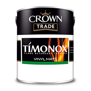Ct Timonox Matt Emulsion Brilliant White 5L 5040579