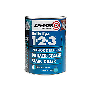 Zinsser Bullseye 1-2-3 Primer Sealer Stain Killer 500ml