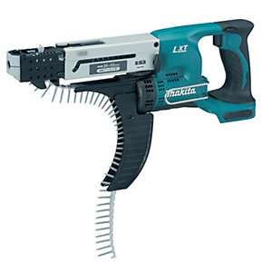 Makita 18V Lxt 55mm Auto-feed Screwdriver Body Only DFR550Z