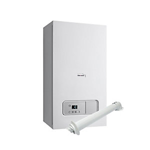 Glow-worm Ultimate 3 25kW ErP Heat Only Boiler and Horizontal Flue Pack
