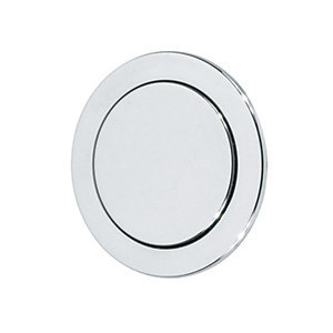 Thomas Dudley Vantage Single Flush Round Button 73.5mm Chrome 327736