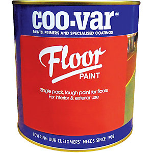 Coo-var Floor Paint Light Grey 5L
