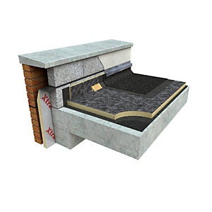 Xtratherm Flat Roof Board Built Up Roofing 1200mm x 600mm x 50mm