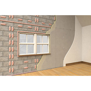 Xtratherm Thermal Liner Dot and Dab Fix 2400 x 1200 x 62.5mm