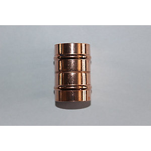 Solder Ring Fitting P1 15 x 15 mm Straight Coupler