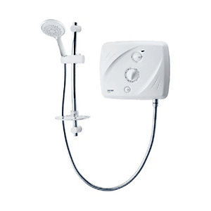Triton Electric Shower Pumped 8.5kW White/Chrome T80SI SP8P08SI