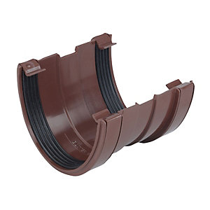 Osma DeepLine 9T909 Gutter Union 113mm Brown