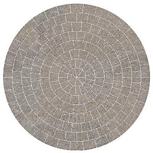 Marshalls Drivesett Tegula Circle Pack Pennant Grey 2600mm x 50mm