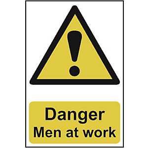 Spectrum 1200 Danger Men At Work Sign