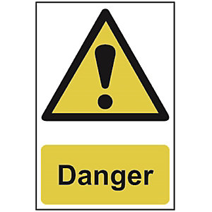 Spectrum 1301 Regular Size Danger Sign