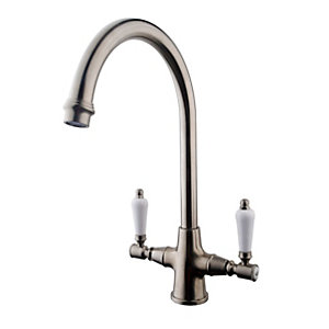 Traditional Monobloc Mixer Brushed 177011BN